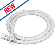 Triton Shower Hose White 10mm x 1.25m