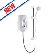 Mira Vie Electric Shower White / Chrome 9.5kW