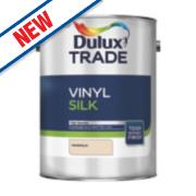Dulux Trade Silk Emulsion Paint Magnolia 5Ltr