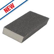 Norton Expert Dual Grit Angled Sanding Sponge Medium/Coarse