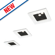 Philips Stardust Fixed Recessed LED Downlights 880Lm White 6W 220-240V Pack of 3