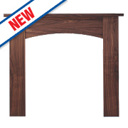 Focal Point Nebraska Fire Surround Walnut Veneer