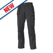"""Dickies Eisenhower Multi-Pocket Ladies Trousers Size 12 32"""" L"""