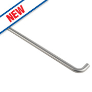 Eurospec D Pull Handle Satin Stainless Steel 450mm