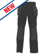 JCB Cheadle Pro Trousers Black 32