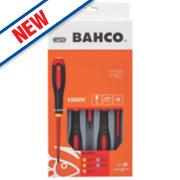 Bahco Ergo Screwdriver Set 325mm 5Pcs
