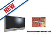 Rawlplug R-SKJ-FSHWD TV Fixing Kit for Masonry