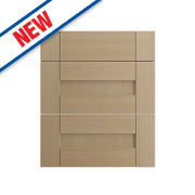 Oak Kitchens Shaker 500 Pan Drawer Fronts 496 x 732mm