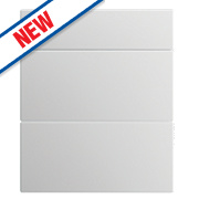 Slab Kitchens 500 Pan Drawer Fronts White Gloss 732 x 496mm