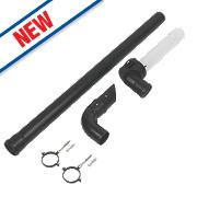Baxi EcoBlue Plume Kit inc. 1m Extension & Brackets