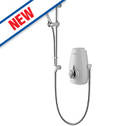 Aqualisa Aquastream Power Shower White / Chrome