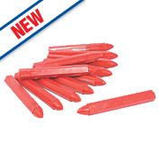 Forge Steel Red Builders Crayons Pack of 12