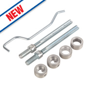 Eurospec Back-to-Back D Pull Handle Fixing Kit