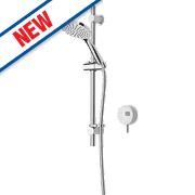Bristan Artisan Evo HP Rear Fed Thermostatic Mixer Shower w/Digital Control White