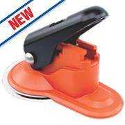 Skipper Retractable Barrier Suction Pad Holder / Receiver Black