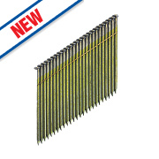 DeWalt Collated Stick Framing Nails Bright 2.8ga 63mm Pack of 2200