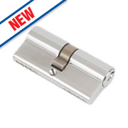 Eurospec Keyed Alike Double Euro Cylinder Lock 30-30 (60mm) Polished Chrome