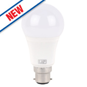 LAP GLS LED Lamps Warm White BC 8.7W Pack of 5