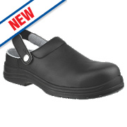 Amblers FS514 Sandal Safety Shoes Black Size 7