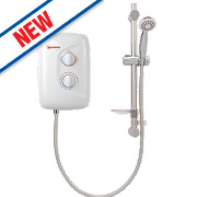 Redring Dash Plus Electric Shower White 9.5kW