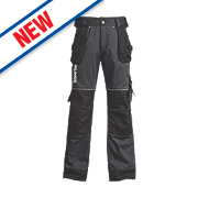 "Timberland Pro 614 Work Trousers Black / Charcoal 38"" W 30"" L"