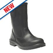 Dickies Dakota Rigger Safety Boots Black Size 10