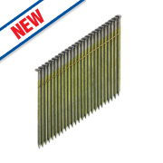 DeWalt Collated Framing Stick Nails Galvanised 2.8ga 75mm Pack of 2200