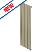 Moretti Modena Single Panel Vertical Radiator Champagne 1800 x 433mm