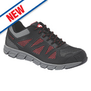 Lee Cooper LCSHOE088 Safety Trainers Black Size 9