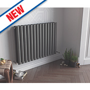Ximax Fortuna Horizontal Designer Radiator Anthracite 600x1180mm