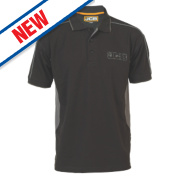 JCB Polo Shirt Black X Large 44