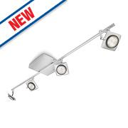 Philips Millennium 4-Light LED Ceiling Spotlight Aluminium