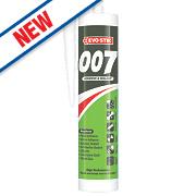 Evo-Stik 007 All-in-One Sealant & Adhesive White 290ml