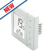 JG Speedfit JGSTAT2W Aura 4-in-1 Thermostat & Hot Water Control 230V White