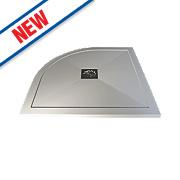 Aqualux Aqua 25 Quadrant Shower Tray 900 x 900 x 25mm