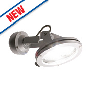 Saxby Outdoor Halogen Floodlight 150W Silver 675Lm