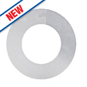 "Arctic Products Poly Pillar Tap Washers White ½"" Pack of 5"
