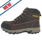 Stanley Milford Safety Boots Brown Size 8