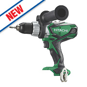 Hitachi DV18DSDL/W4 18V Cordless Combi Drill - Bare