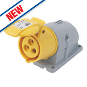 ABB Surface Socket 16A 2P+E 110V 4H IP44