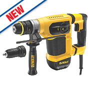 DeWalt D25414KT-GB 4kg SDS Plus Hammer Drill 240V