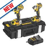 DeWalt DCK245M2 14.4V 4.0Ah Li-Ion Twin Pack Combi Drill & Impact Driver XR