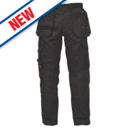 DeWalt Pro Tradesman Trousers Black 38