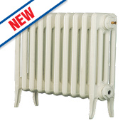 Arroll Neo Classic 4-Column Cast Iron Radiator White 460 x 634mm