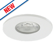 Sylvania Fire Rated Fixed Integrated LED Downlight IP65 White 10W