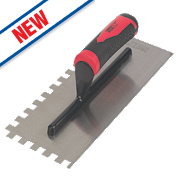 Forge Steel 11 Adhesive Trowel Square Notched 10mm