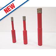 Rothenberger Diamond Tile Drill Bit Set 3Pcs