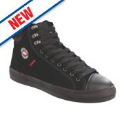 Lee Cooper Flexible Trainer Boots Black Size 9