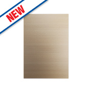 Oak Kitchens Slab 500 Base/Wall Door 496 x 732mm
