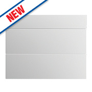 Slab Kitchens 800 Pan Drawer Fronts White Gloss 732 x 796mm